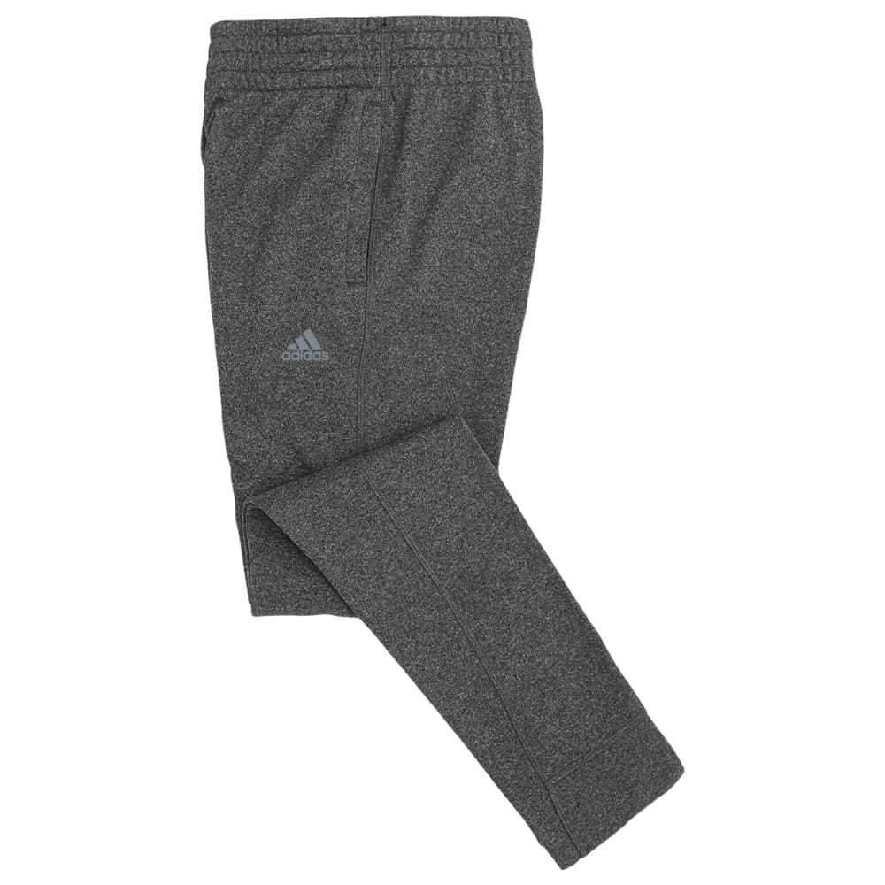 ADIDAS Girls' Ultimate Fleece Skinny Pants - DARK GREY HEATHER