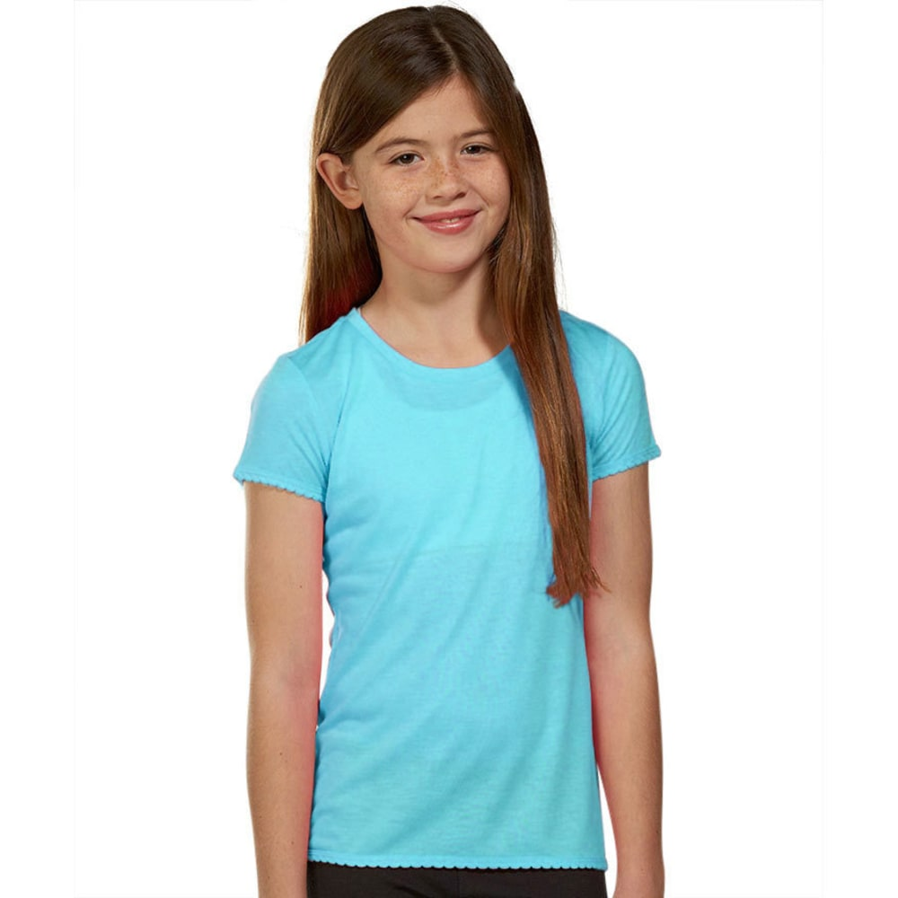 MARIKA Girls' Scallop Tech Tee S