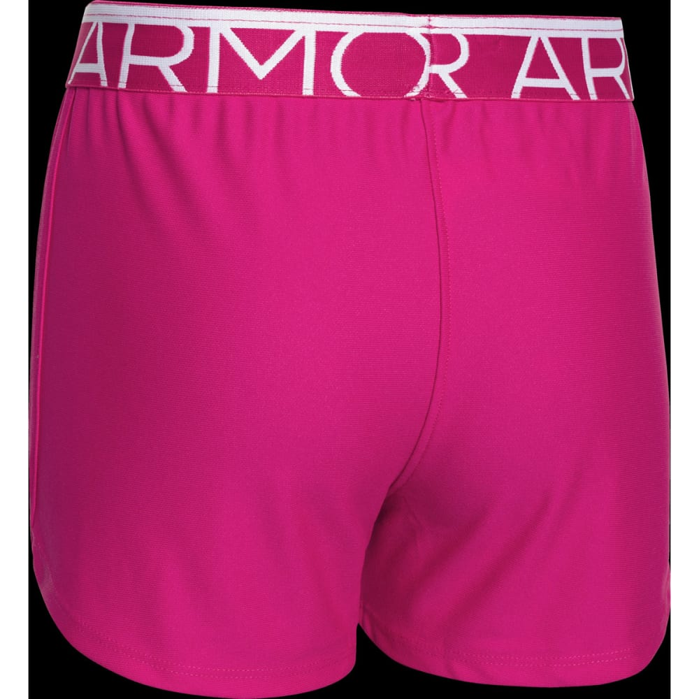 UNDER ARMOUR Girls™ Play Up Shorts - TROPIC PINK