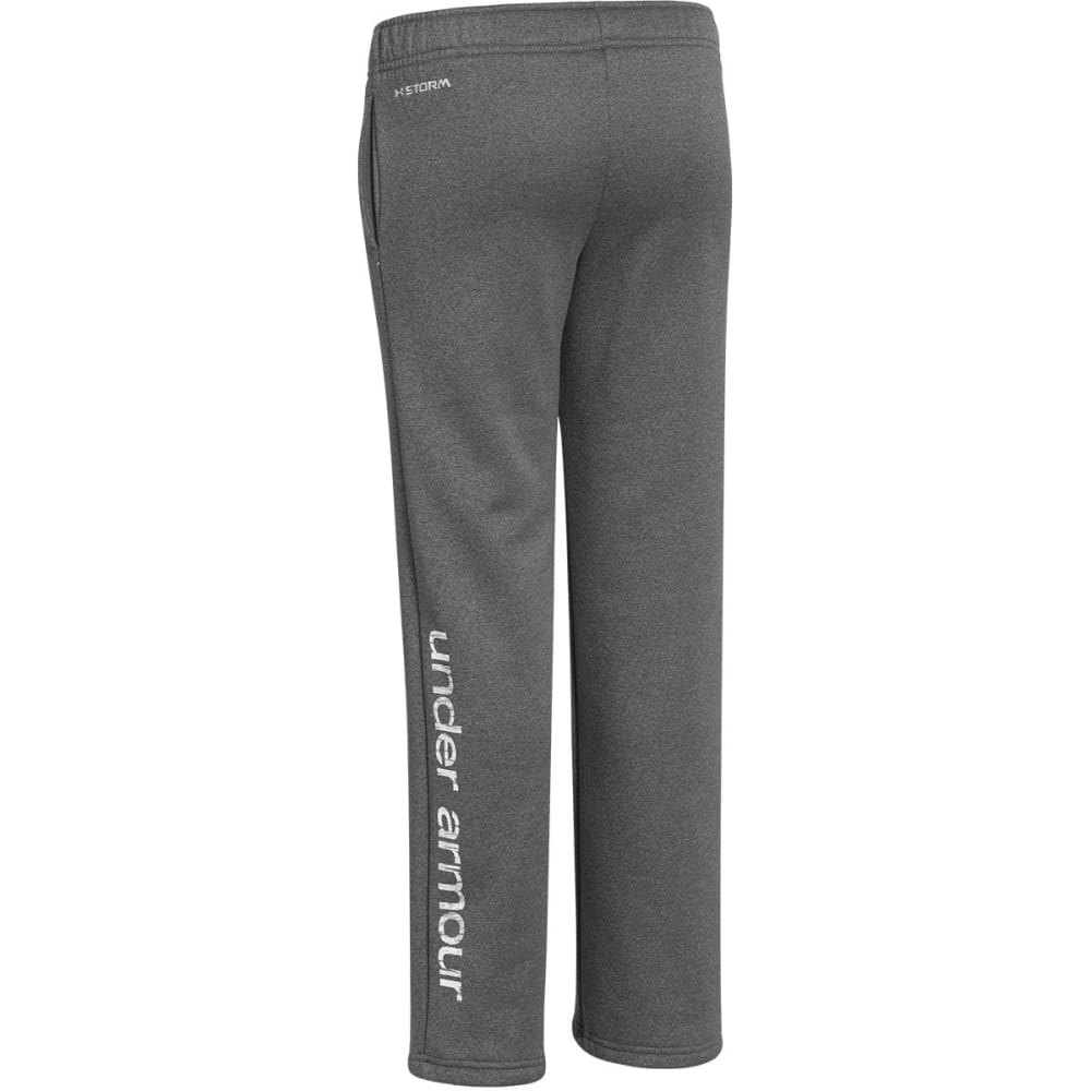 UNDER ARMOUR Girls' Armour® Fleece Pants 2.0 - CARBON/WHITE