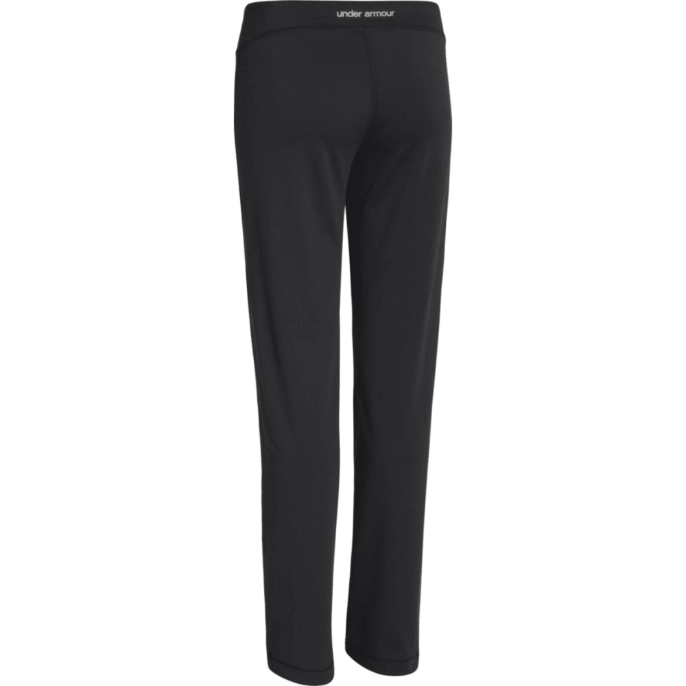UNDER ARMOUR Girl's Rally Pants - BLACK