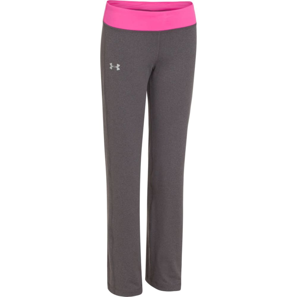UNDER ARMOUR Girl's Rally Pants - CARBON/CHAOS