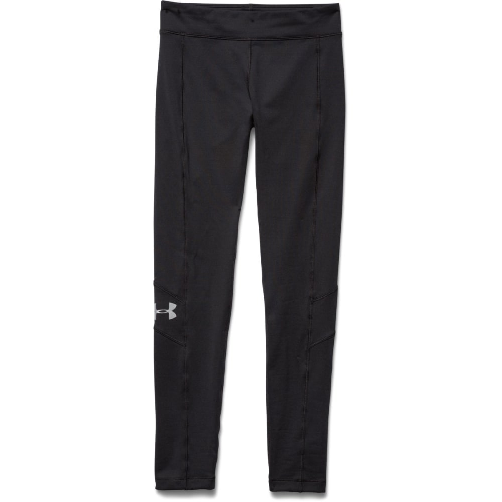 Under Armour Girl's UA Coldgear Legging - BLACK