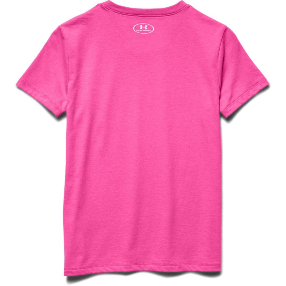 UNDER ARMOUR Girls' Just Call Me Awesome Tee - ICY PINK