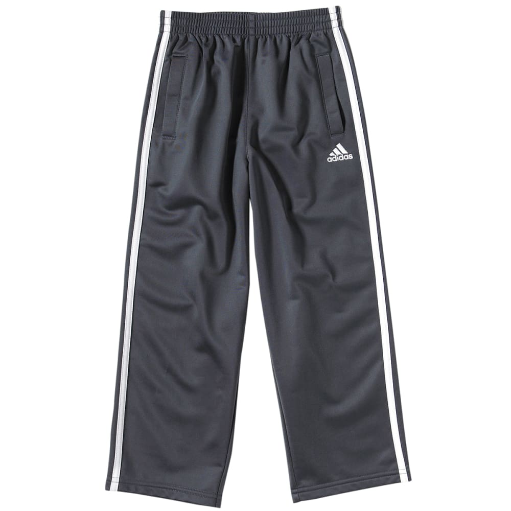 ADIDAS Boys' 3 Stripe Tricot Pants - GREY