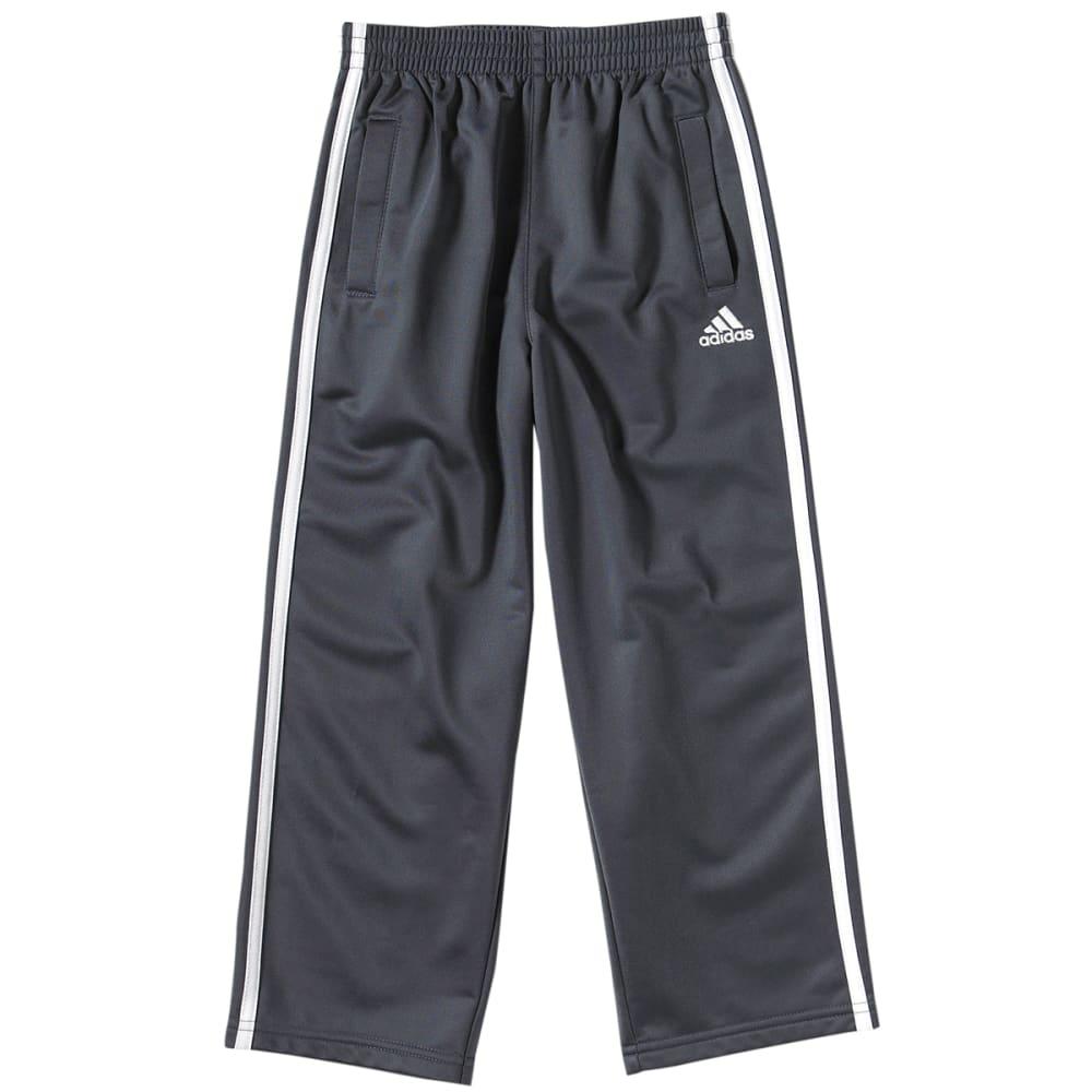 Adidas Boys 3 Stripe Tricot Pants - Black, 4