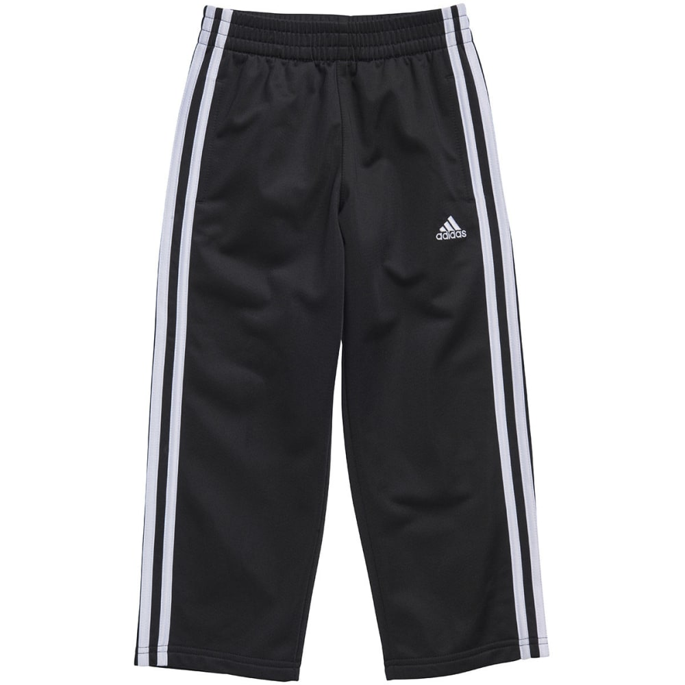 ADIDAS Boys' Impact Tricot Pants - BLACK/WHITE