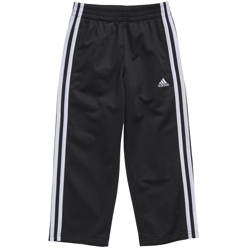 ADIDAS Boys' Impact Tricot Pants - BLACK/WHITE