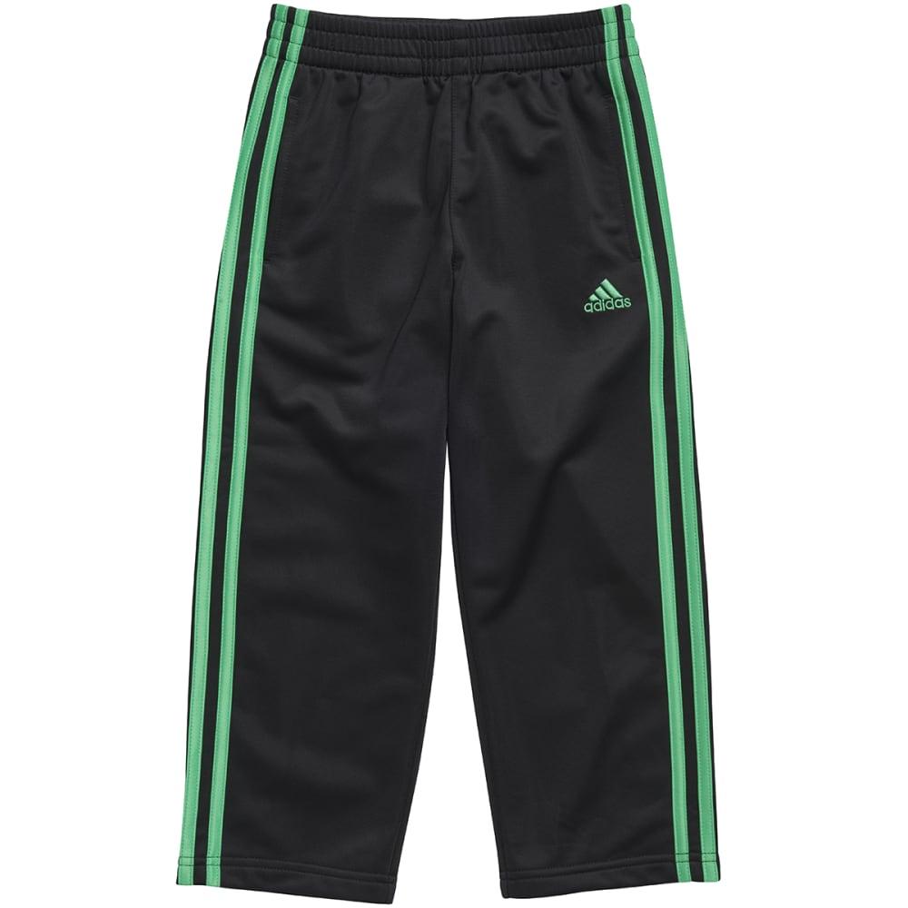 ADIDAS Boys' Impact Tricot Pants - BLACK/FLASH LIME