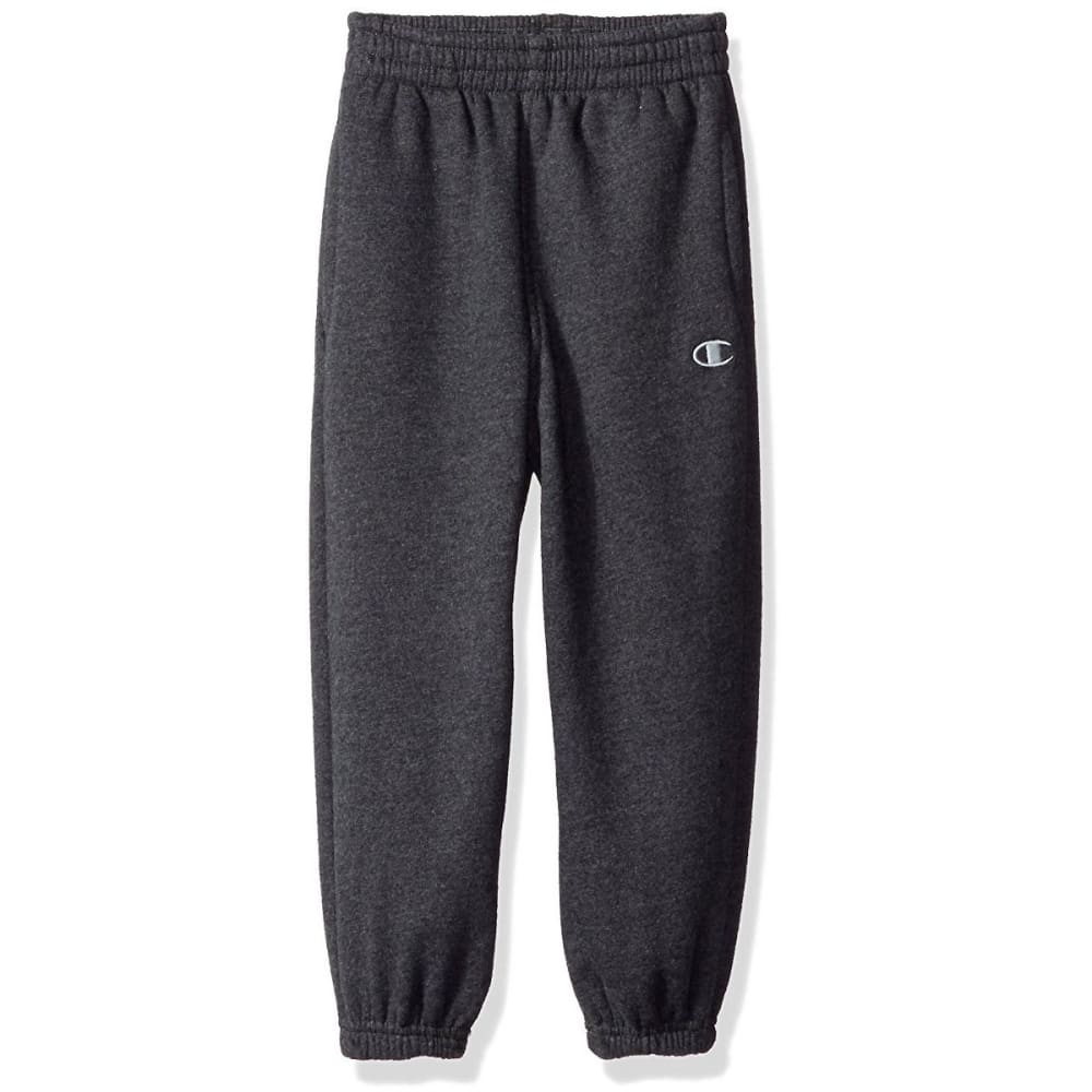 Champion Boys Basic Fleece Pants - Black, 4