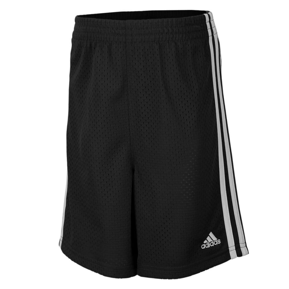 Adidas Boys' Mesh Shorts - Black, 6