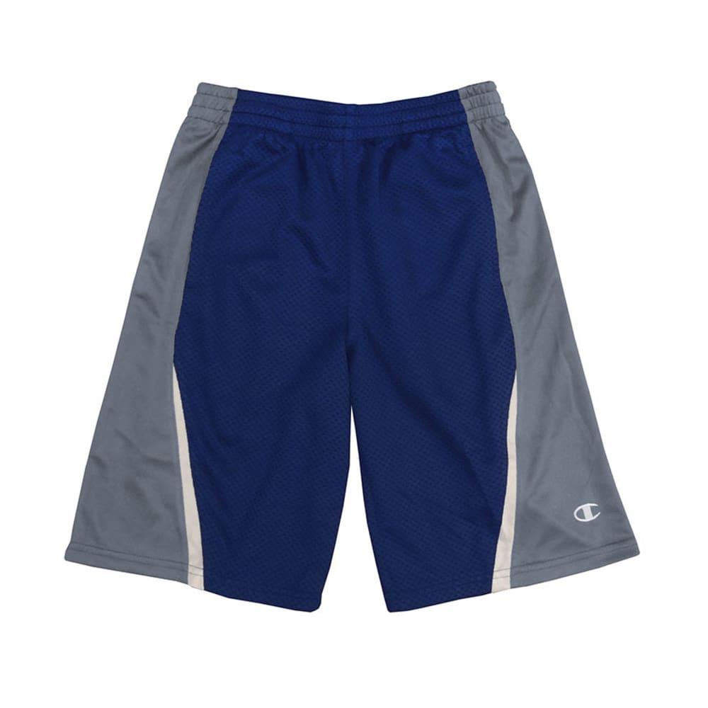 CHAMPION Boys' Fly Shorts - NAVY/SLATE