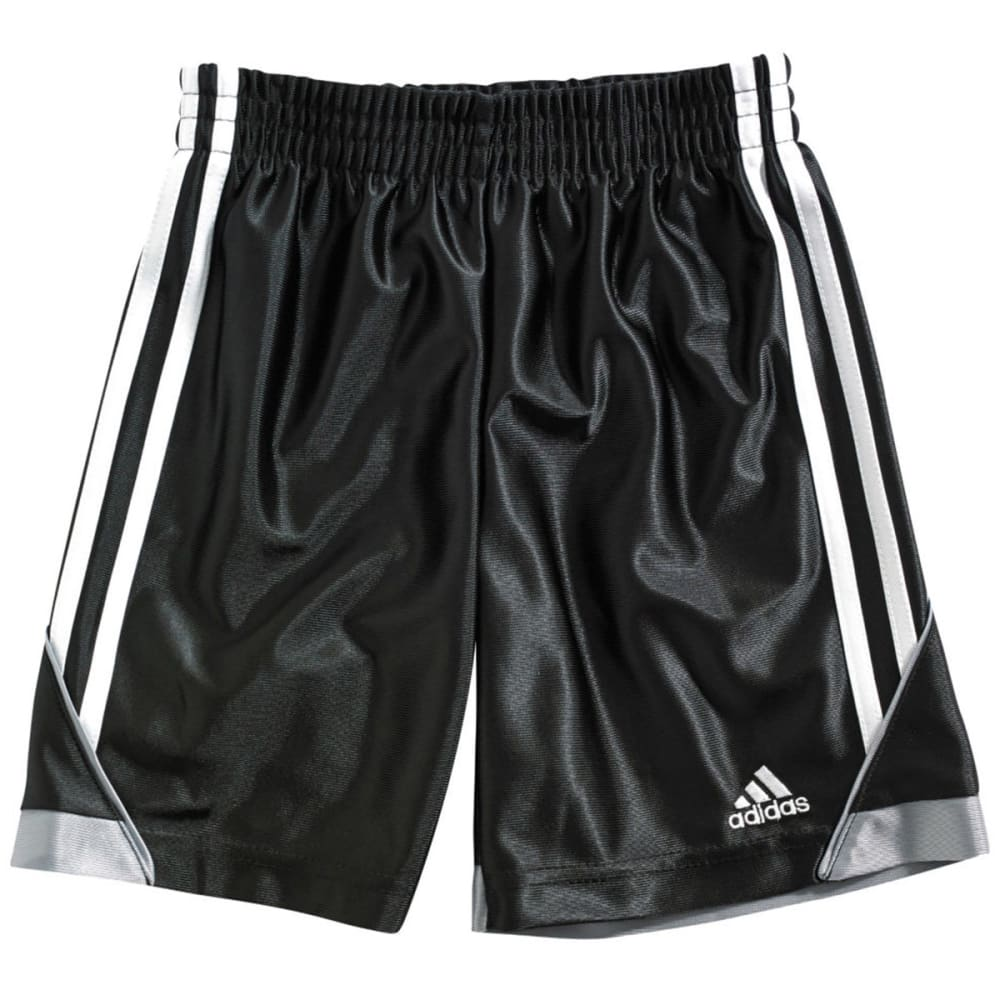 ADIDAS Boys' Speed Shorts - BLACK/ONYX
