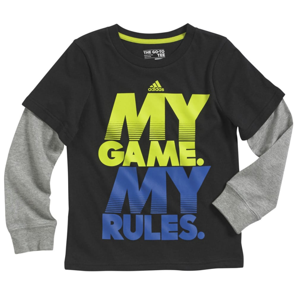 ADIDAS Boys' My Game Tee - BLACK
