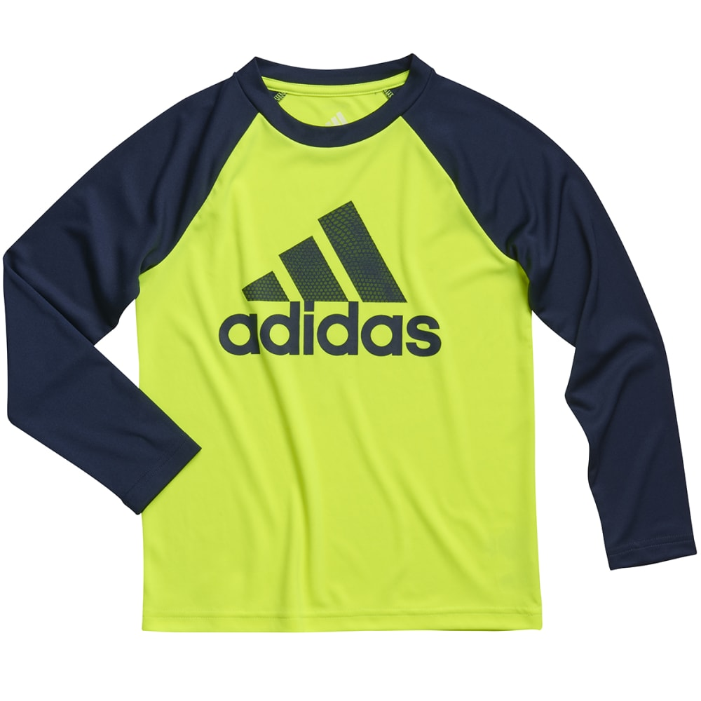 ADIDAS Boys' Touchdown Tee - SOLAR YELLOW