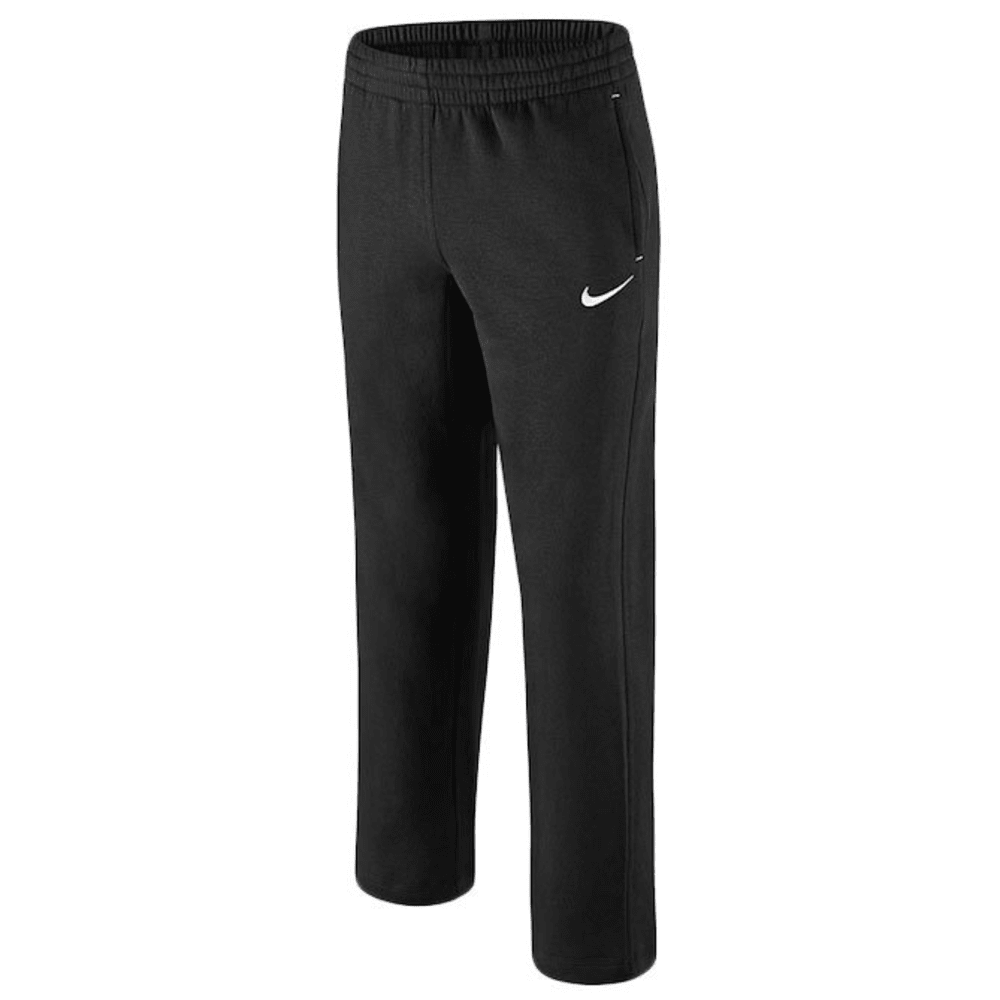 NIKE Boys' N45 Fleece Pants - BLACK