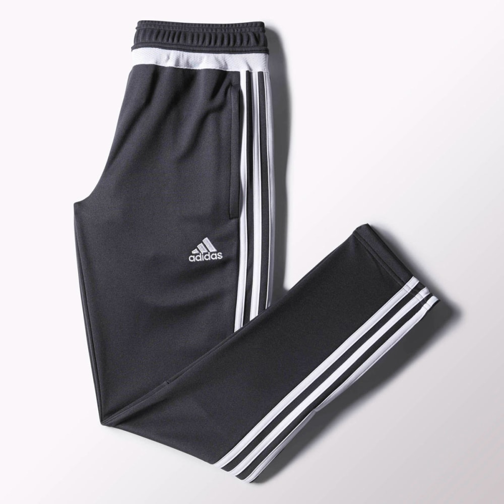 ADIDAS Boys' Tiro 15 Training Pants - DK GREY- S30171