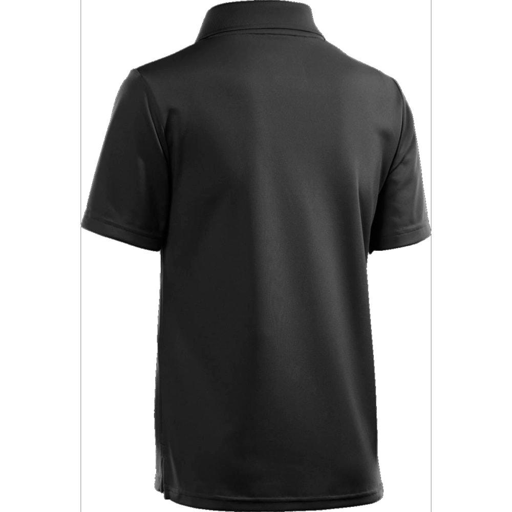 Under Armour Boys UA Matchplay Polo Shirt - BLACK