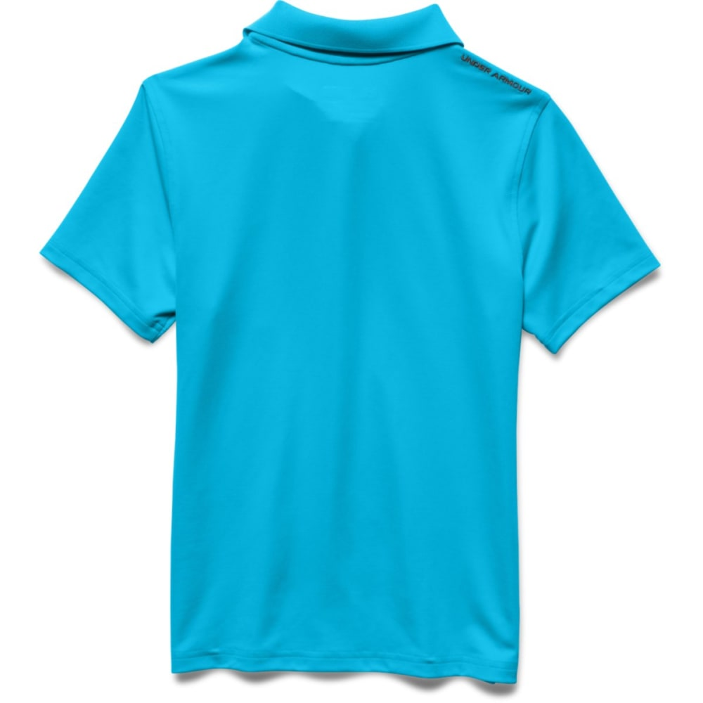 Under Armour Boys UA Matchplay Polo Shirt - TURQUOISE-987