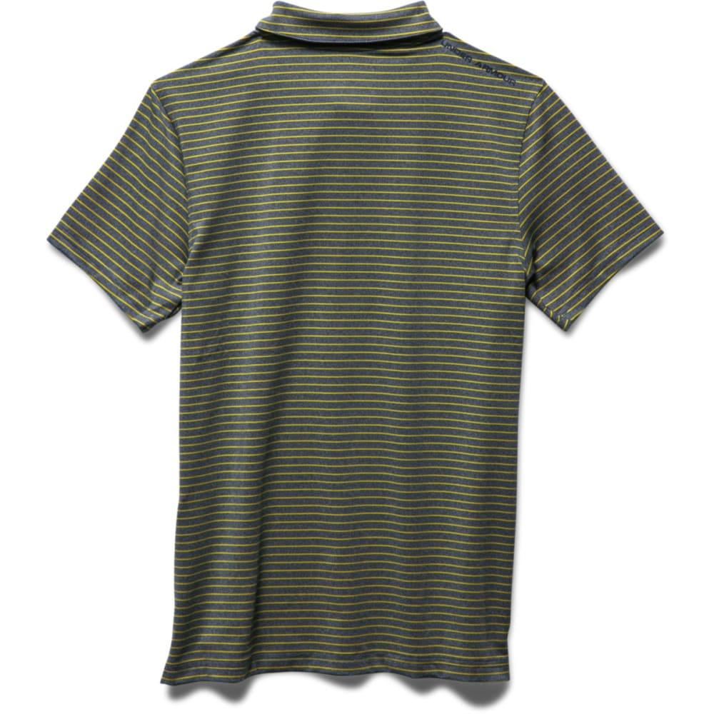 UNDER ARMOUR Boys' Composite Stripe Polo - NAVYSEAL-942