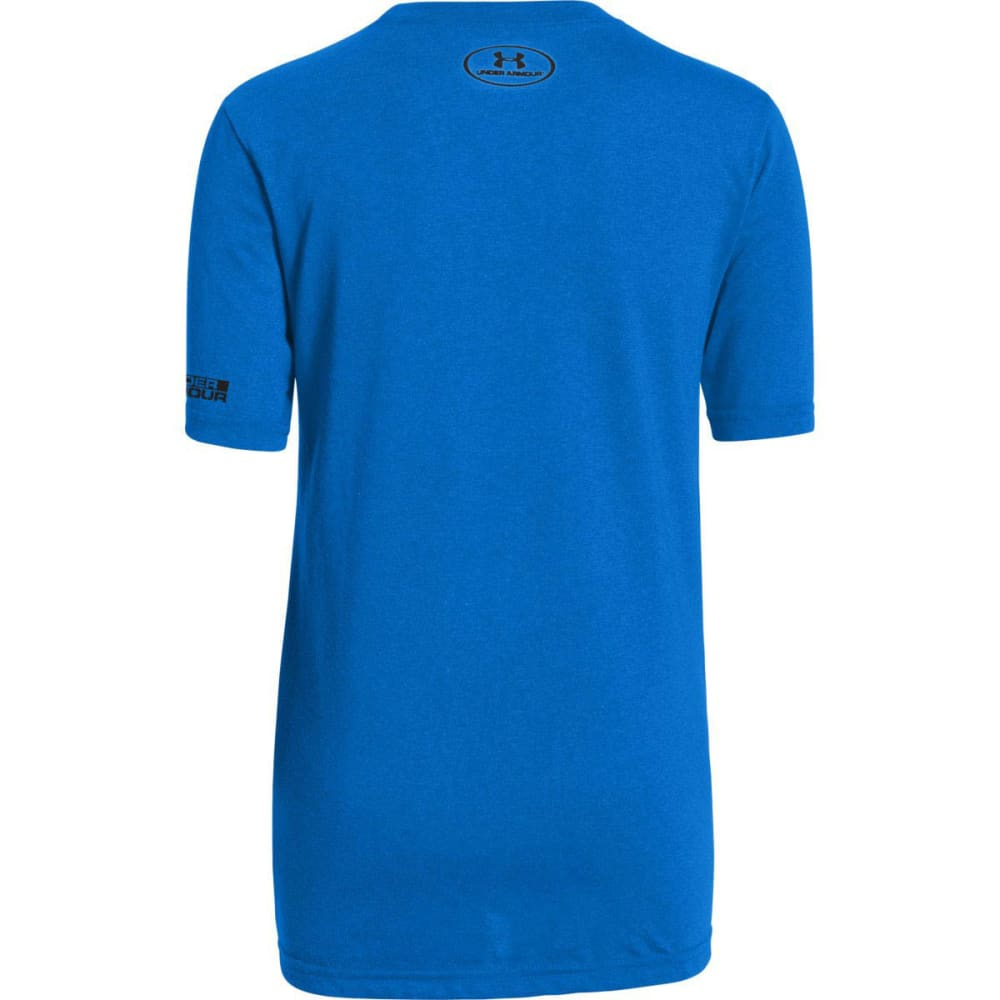 UNDER ARMOUR Boys' Rise Above The Best Tee - BLUE JET/WHITE/BLACK