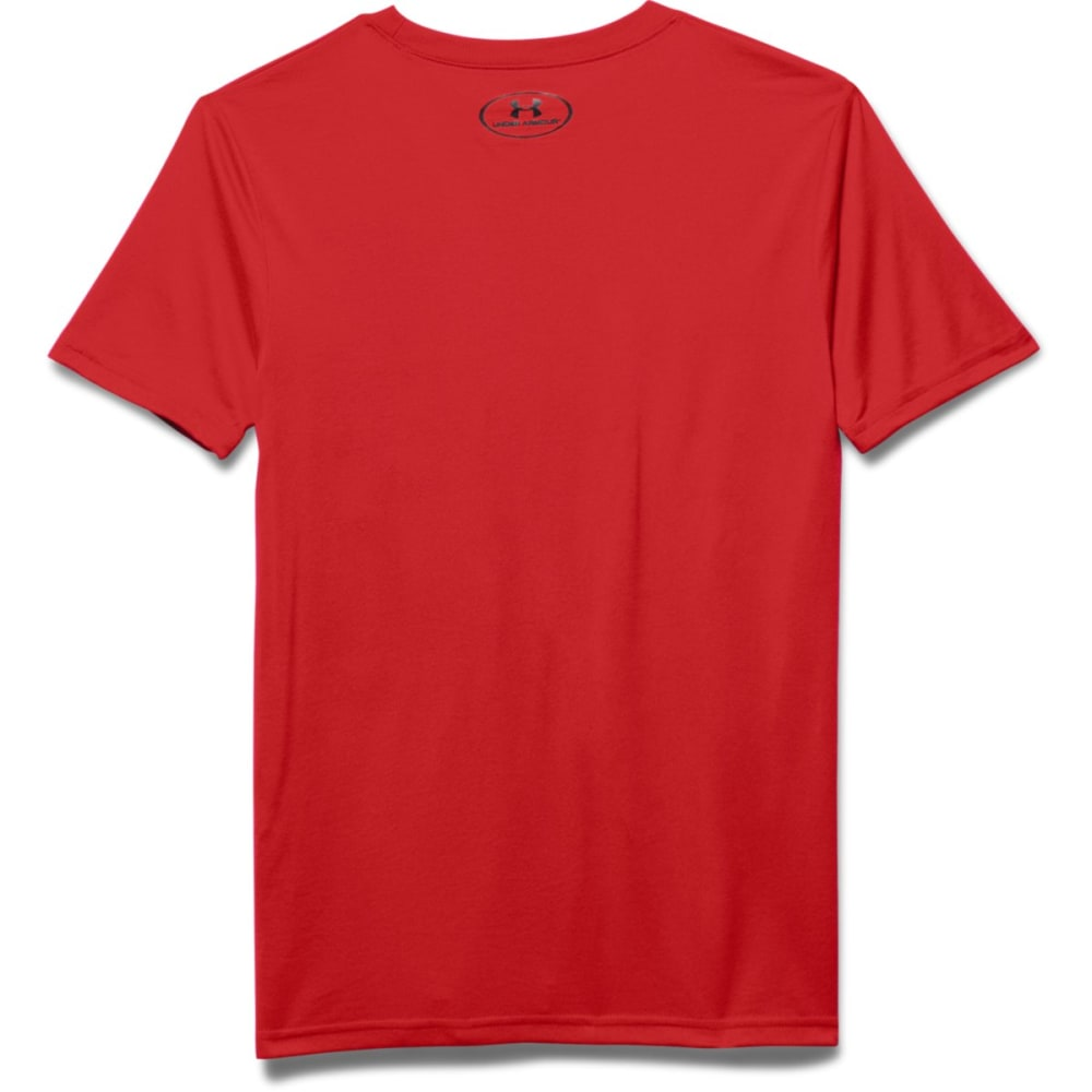 UNDER ARMOUR Boys' One Step Ahead Tee - RISK RED-600