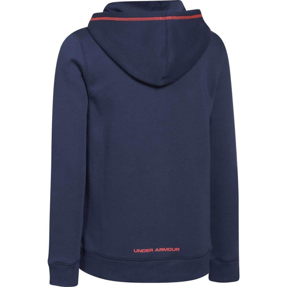 UNDER ARMOUR Boy's Rival Fleece Full Zip Hoodie - HORIZON BLUE