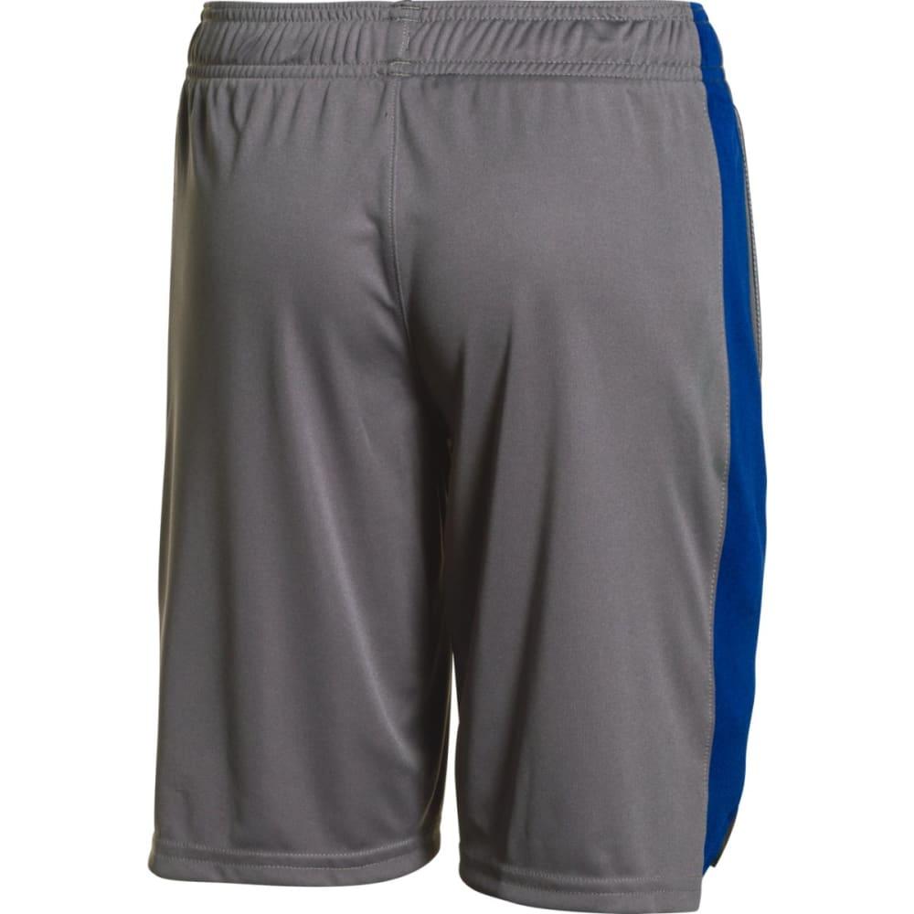 UNDER ARMOUR Boys' Eliminator Shorts - GRAPHITE/ROYAL-040