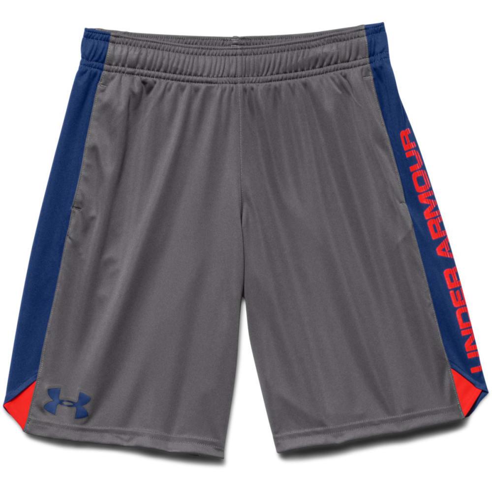 UNDER ARMOUR Boys' Eliminator Shorts - CHARCOAL