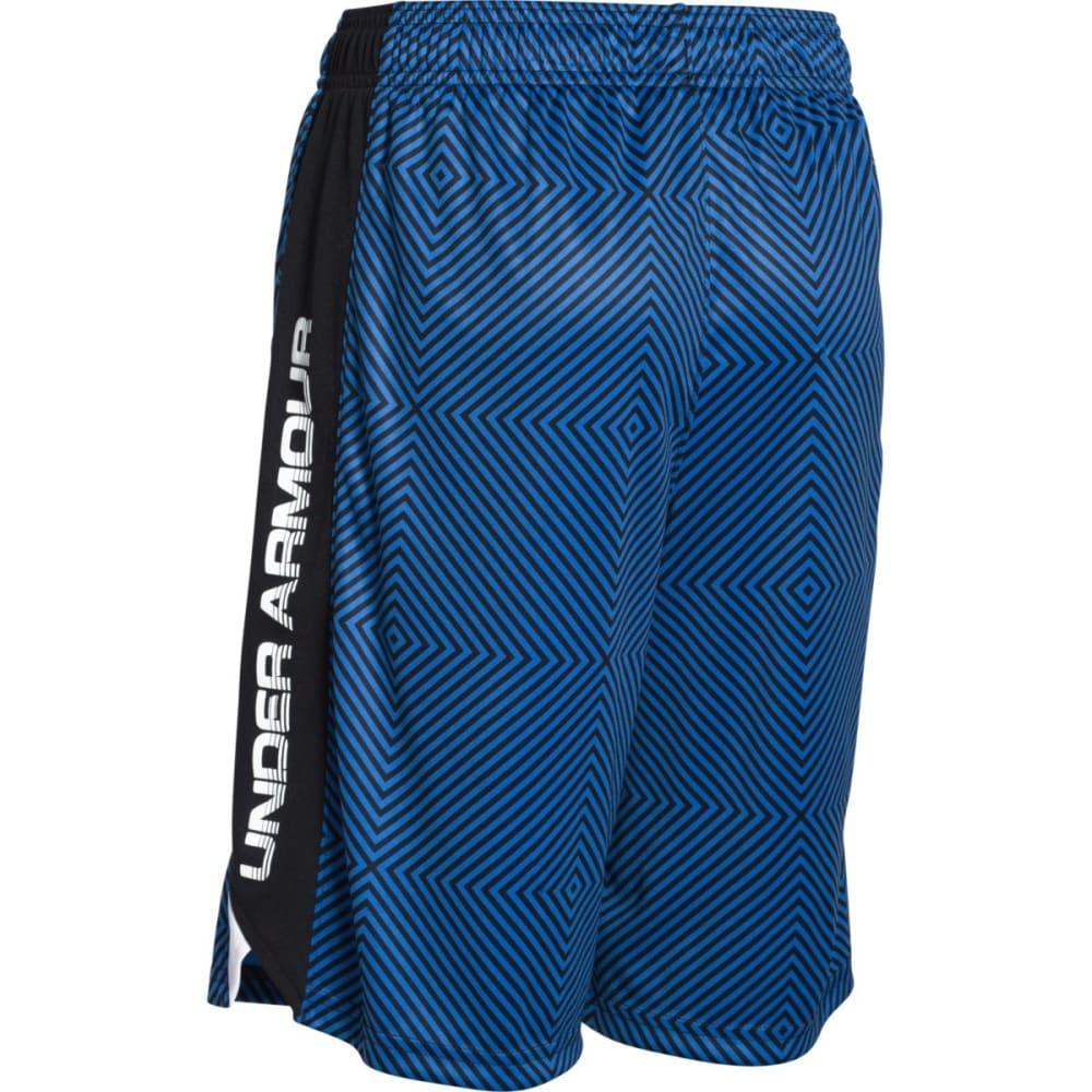 UNDER ARMOUR Boys' Eliminator Printed Shorts - HORIZON BLUE