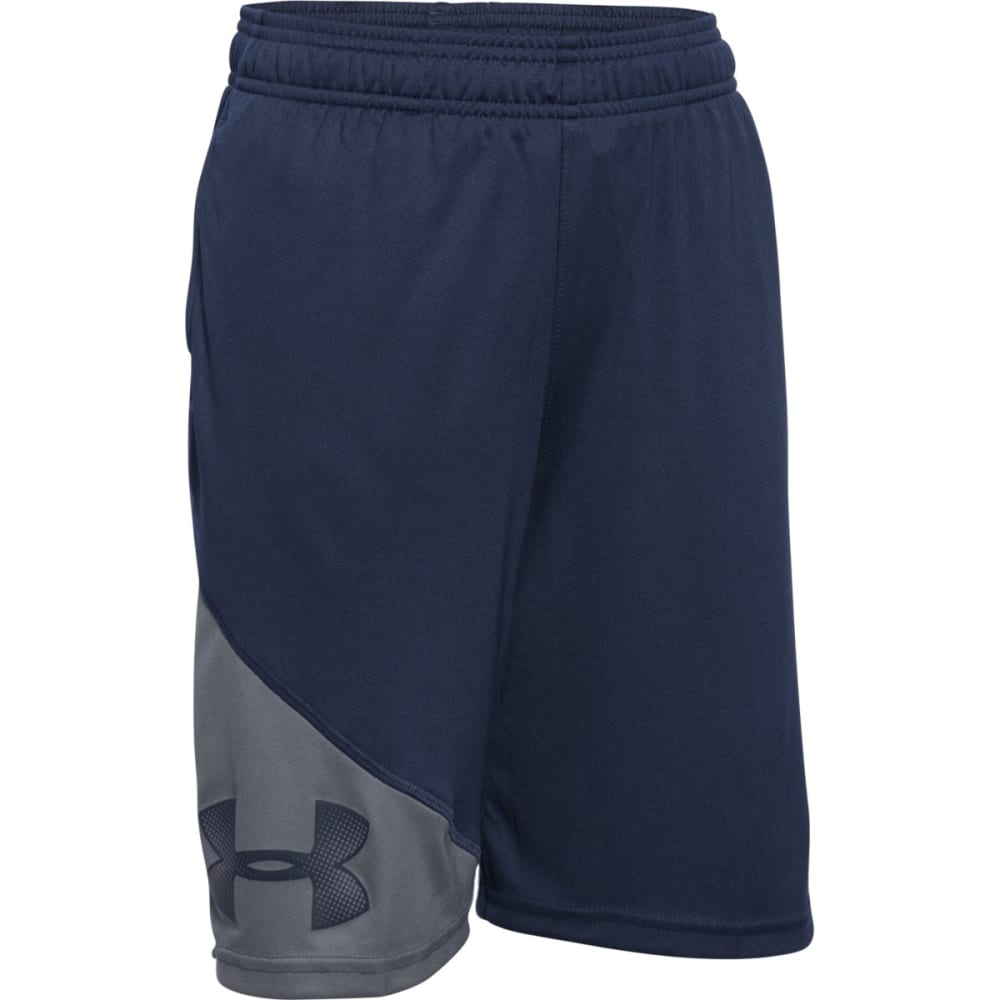 UNDER ARMOUR Boys' Prototype Shorts - NAVY/GRAPHI-410