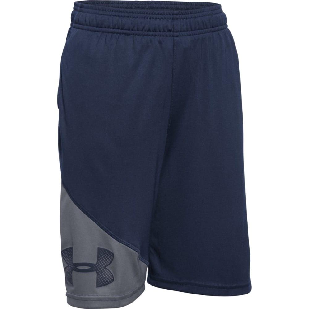 UNDER ARMOUR Boys' Prototype Shorts - NAVY/GRAPHI-410