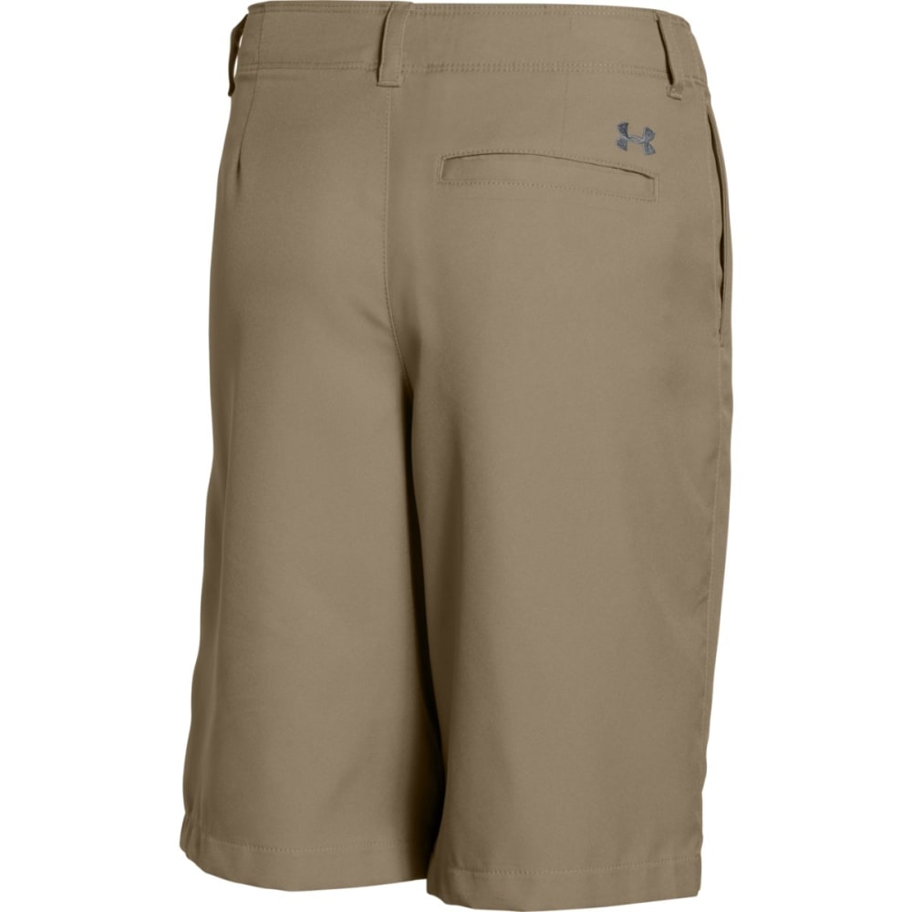 UNDER ARMOUR Boys' Medal Play Golf Shorts - CANVAS-254