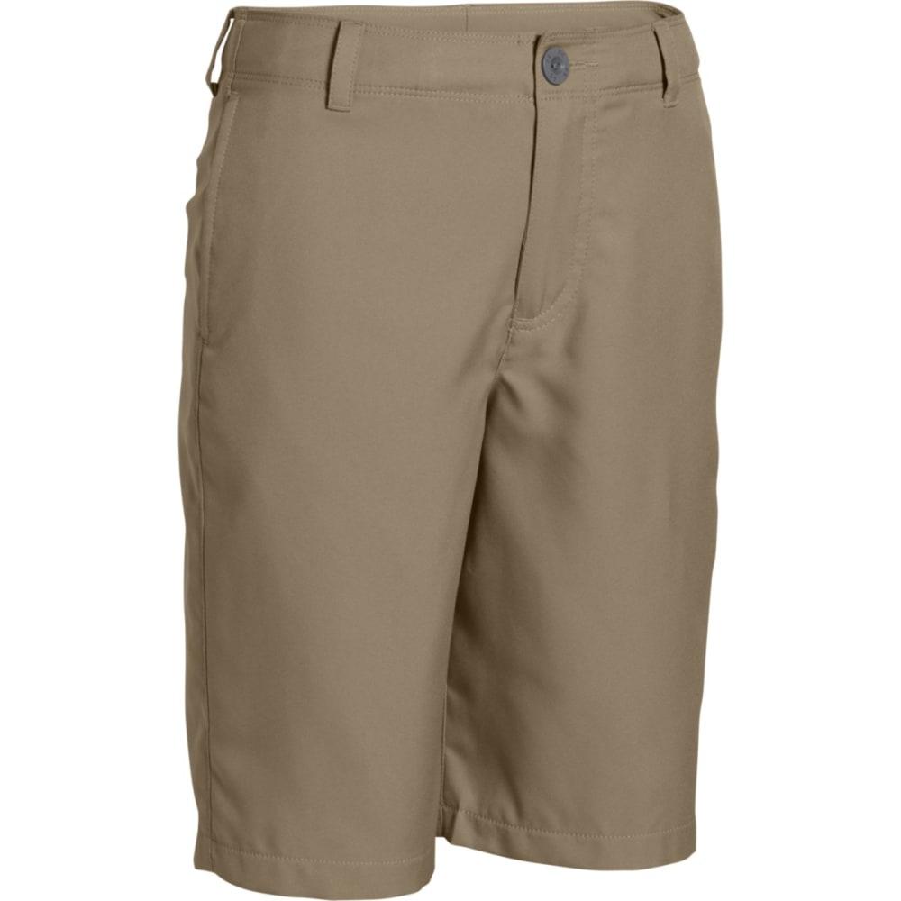 UNDER ARMOUR Boys' Medal Play Golf Shorts - CANVAS-254