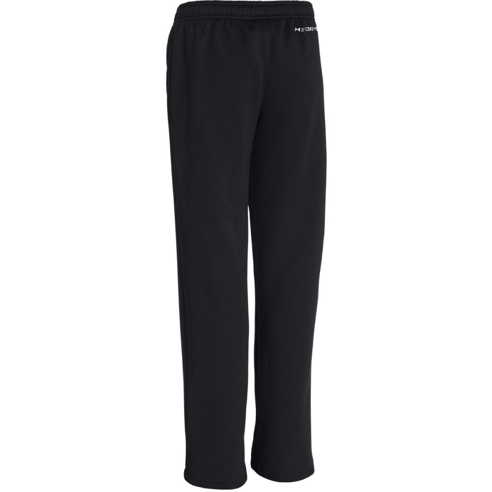UNDER ARMOUR Boys' Storm Armour® Fleece Pants - BLACK