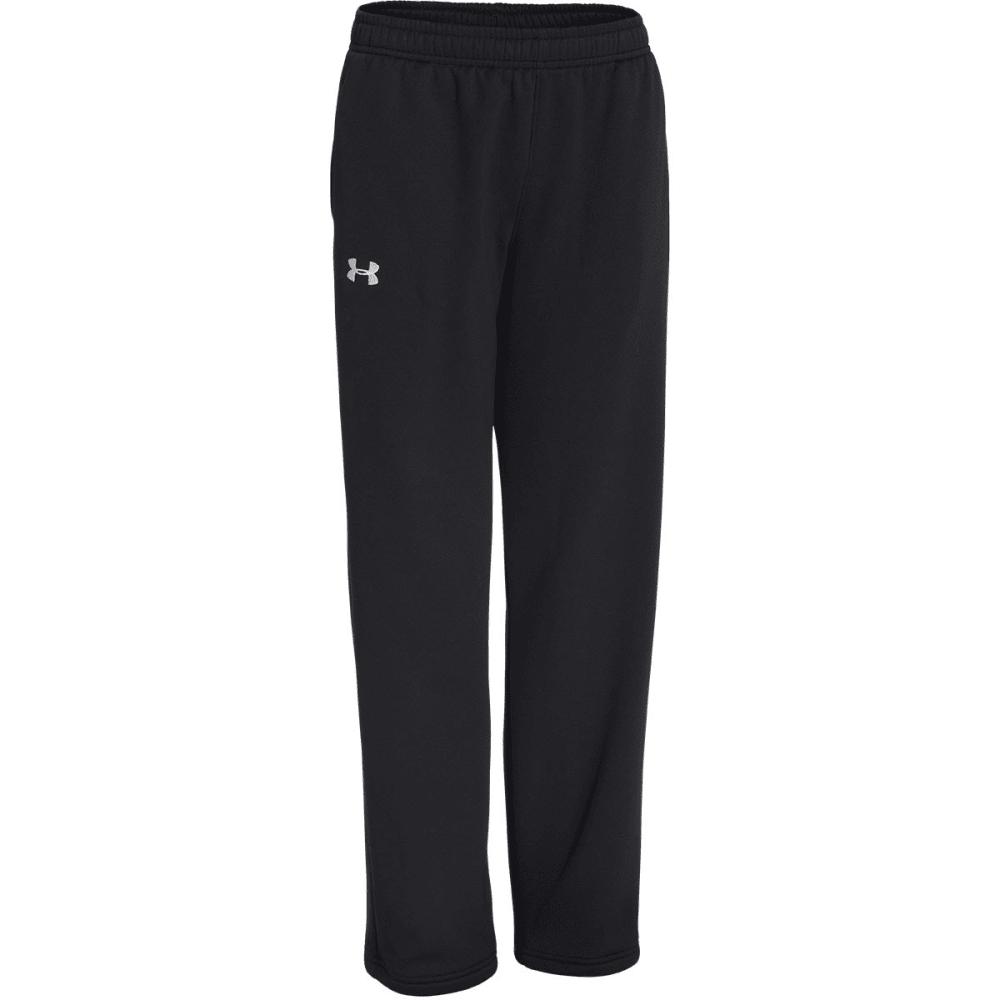 UNDER ARMOUR Boys' Storm Armour® Fleece Pants - BLACK
