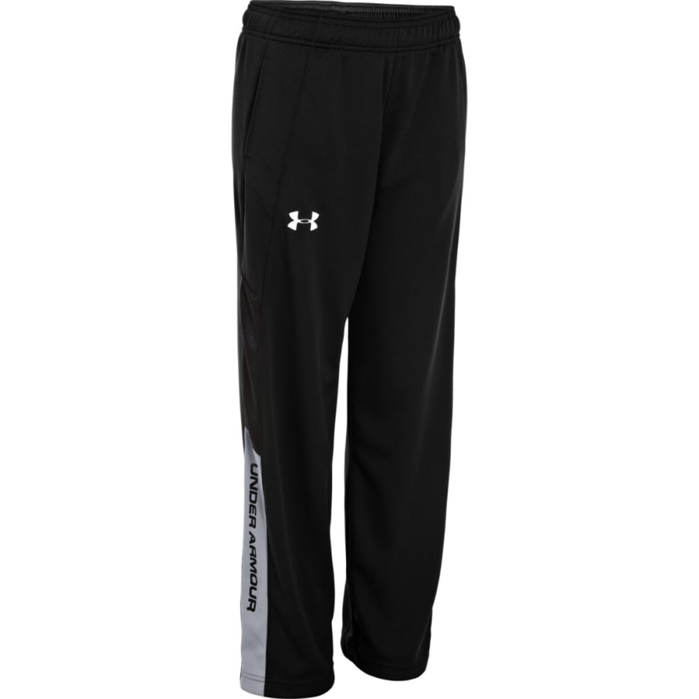 UNDER ARMOUR Boys' Hero Warm-Up Pants - BLACK