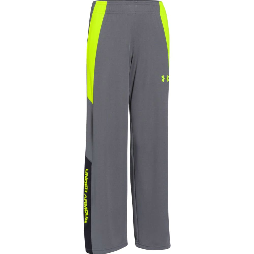 UNDER ARMOUR Boys' Hero Warm-Up Pants - GRAPHITE