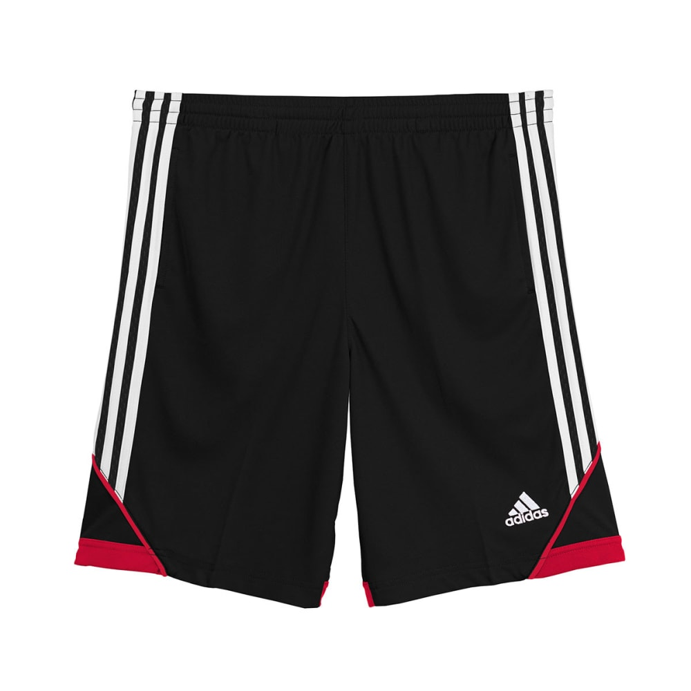 ADIDAS Boys' 3G Speed Shorts - BLACK/RED