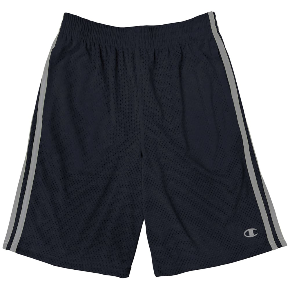 CHAMPION Boys' Halftime Shorts - BLACK