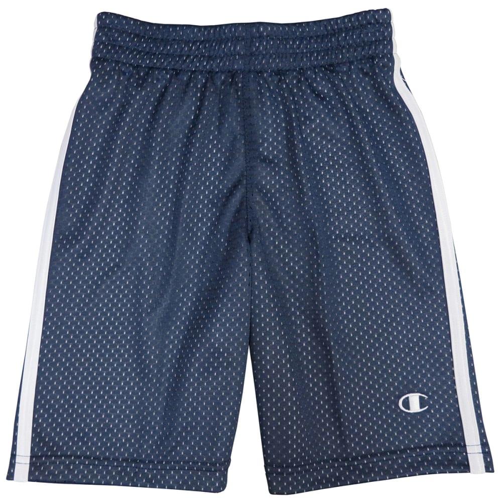 CHAMPION Boys' Halftime Shorts - NAVY/WHITE
