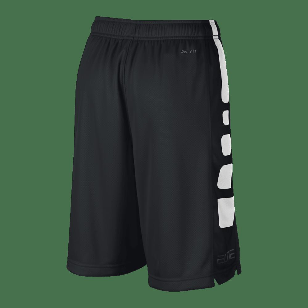 NIKE Boys' Elite Stripe Shorts - BLACK-019