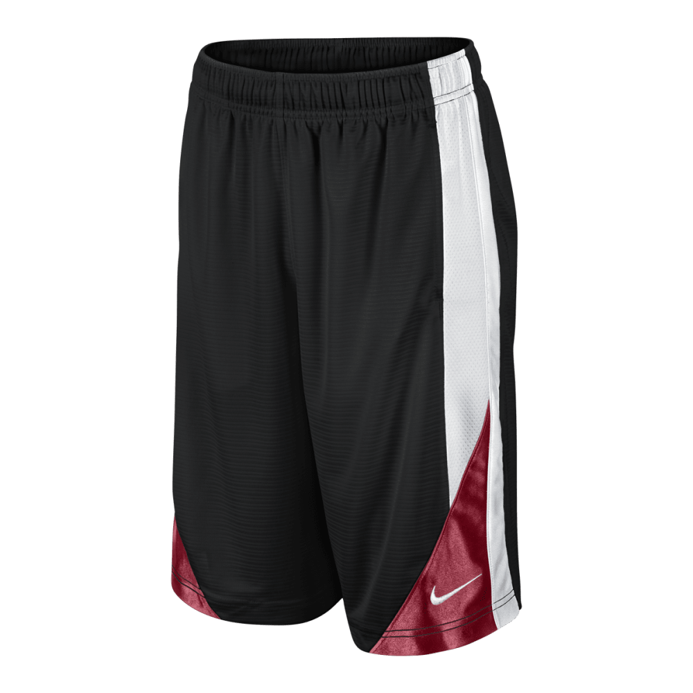 NIKE Boys' Avalanche 2.0 Shorts - BLACK