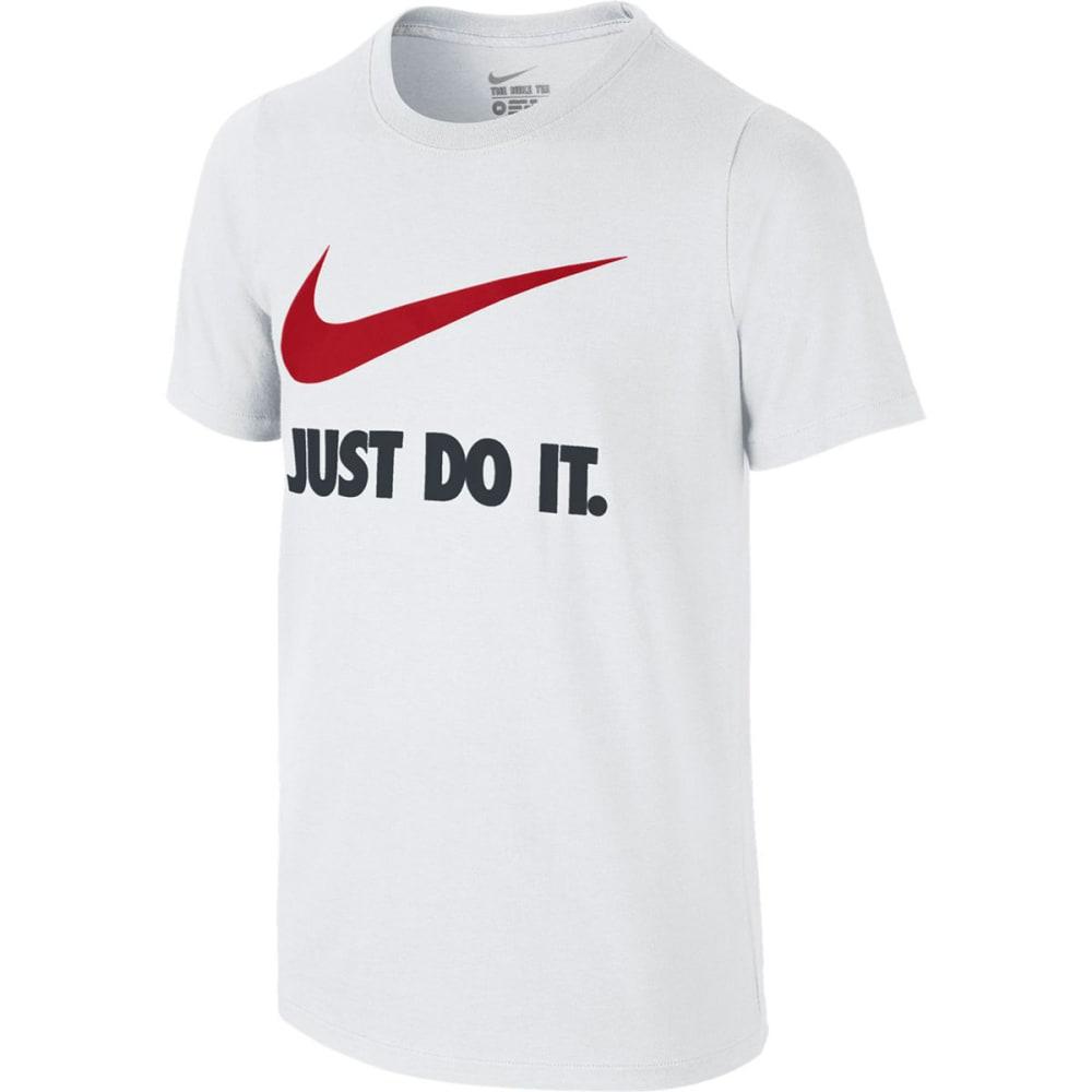 NIKE Boys' Just Do It Swoosh Tee M
