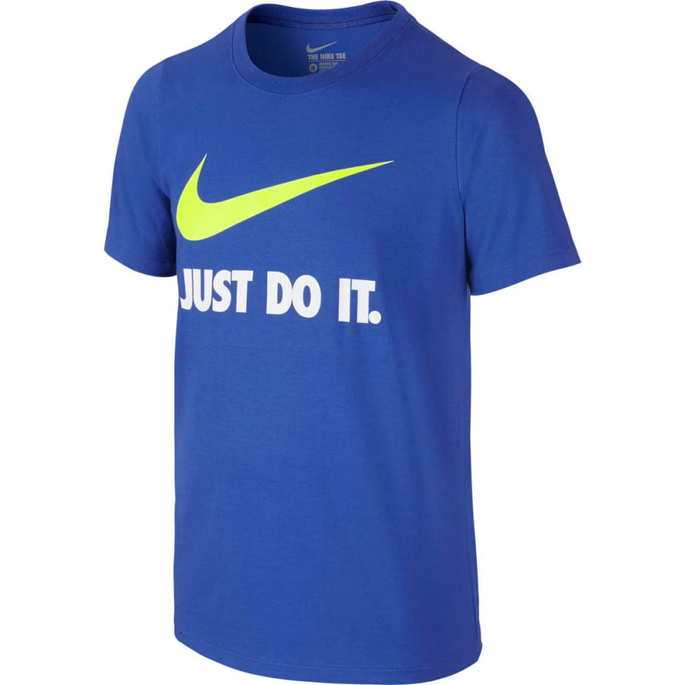 NIKE Boys' Just Do It Swoosh Tee S
