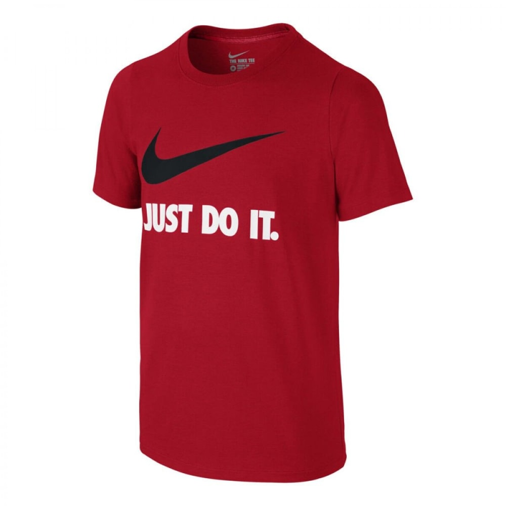 NIKE Boys' Just Do It Swoosh Tee M