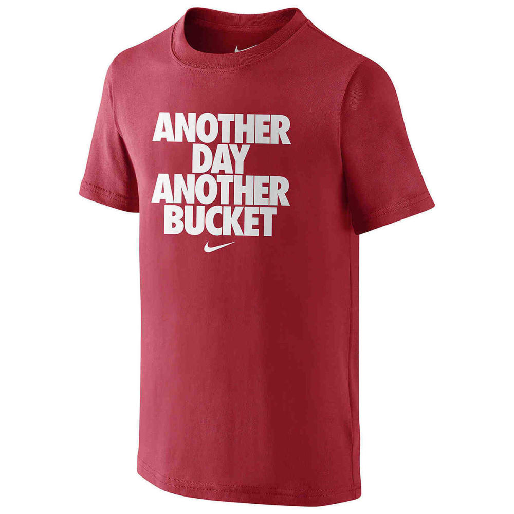 NIKE Boys' Another Day Another Bucket Tee - UNIVERSTY RED-657