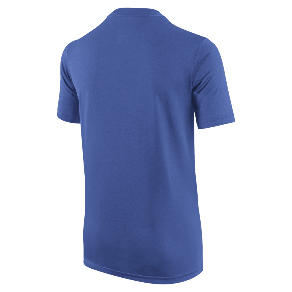 NIKE Boys' Legend Short Sleeve Top - VLT GREEN-380
