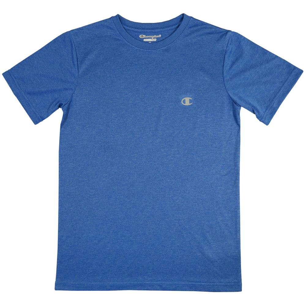 CHAMPION Boys' Short-Sleeve Tee - ATOMIC BLUE
