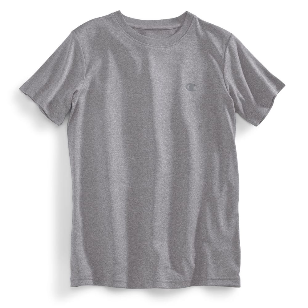 CHAMPION Boys' Power Train Tee - OXFORD-OXF